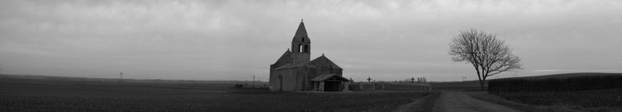 Une église sans village